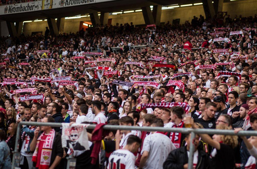 In der Mercedes-Benz Arena des VfB Stuttgart werden Veganer auch satt. Foto: Lichtgut/Christoph Schmidt