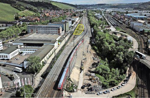 Tunnelbau  vor dem Durchbruch