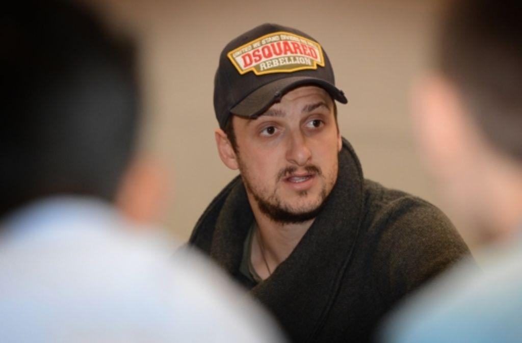 Zdravko Kuzmanovic blickt in Richtung Mailand. Foto: dpa