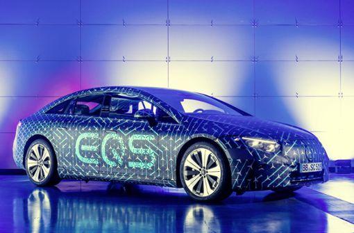 Mit diesem Elektroauto tritt Daimler gegen Tesla an