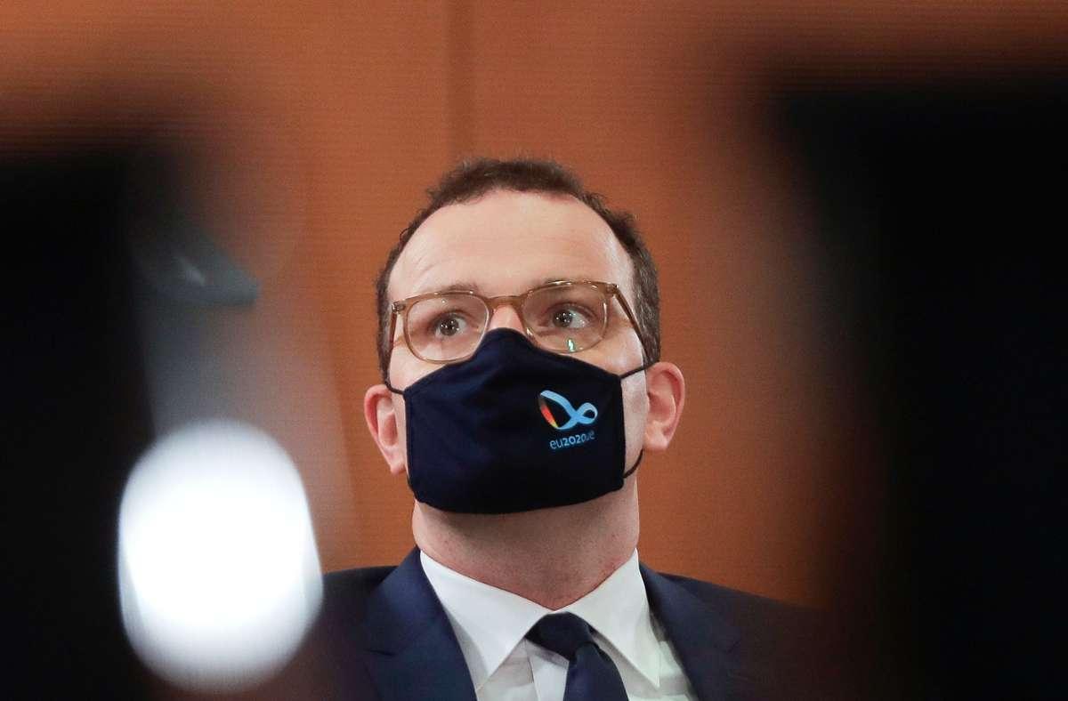 Gesundheitsminister Jens Spahn (CDU) Foto: dpa/Markus Schreiber