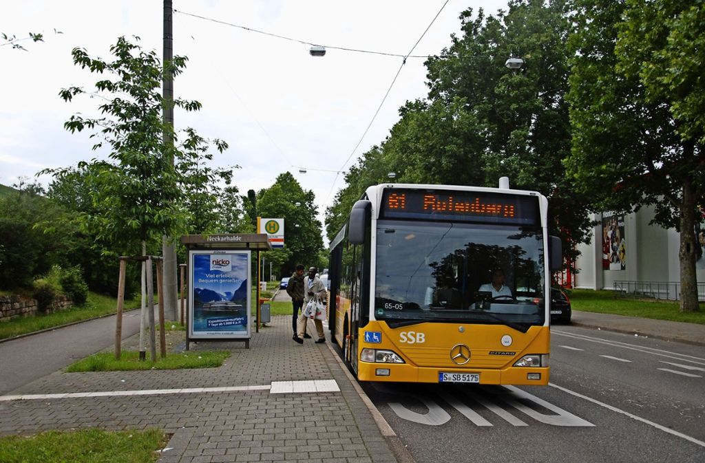 Der Bezirksbeirat Obertürkheim schlägt einen Direkt-Pendelbus von der Neckarhalde nach Rotenberg vor. Foto: Kuhn