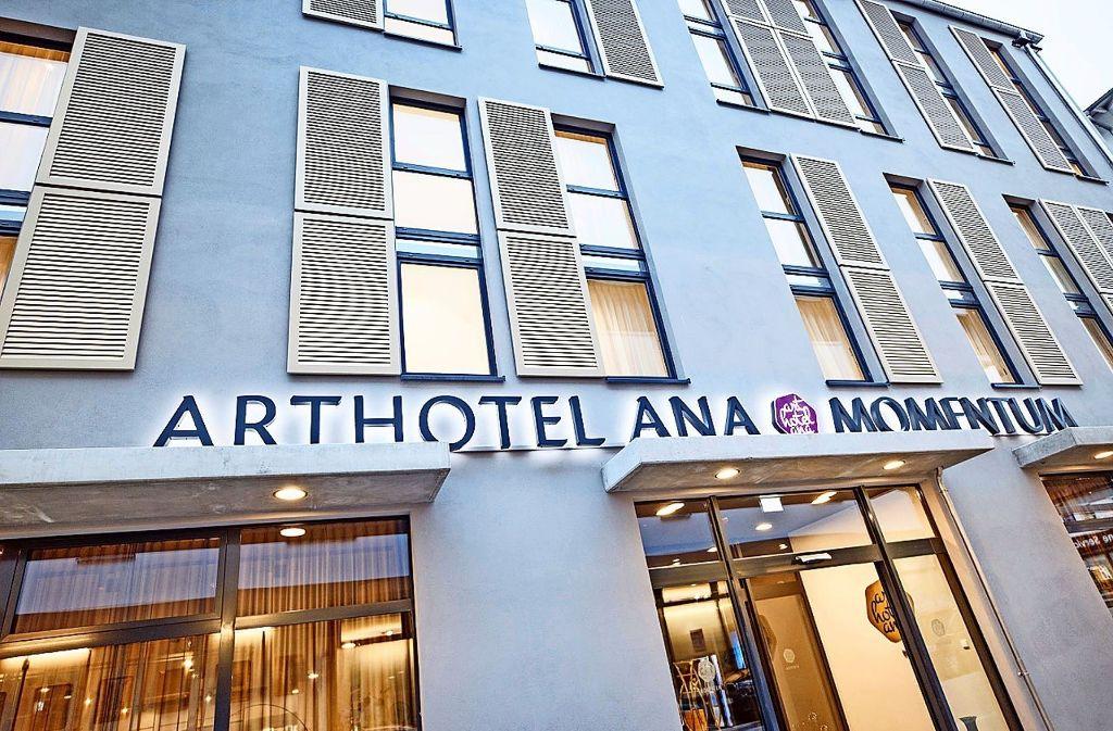 Das neue Hotel am Kornhausplatz kommt bei den Gästen offenbar gut an. Foto: Tobias Fröhner