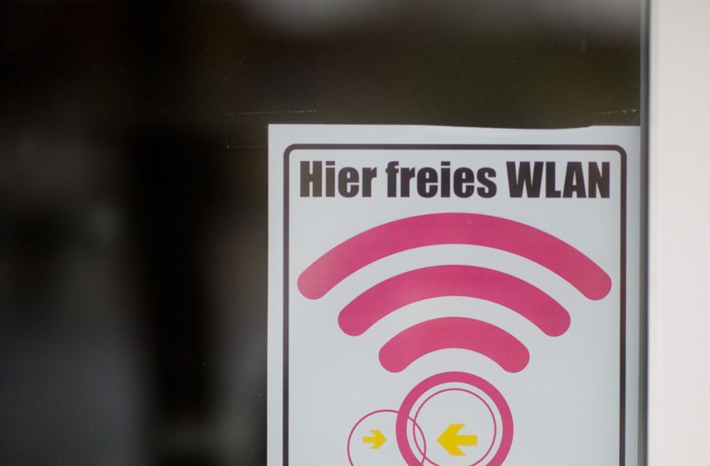 Mehr als 60 Router sind in Beuren schon miteinander verknüpft worden. Foto: dpa
