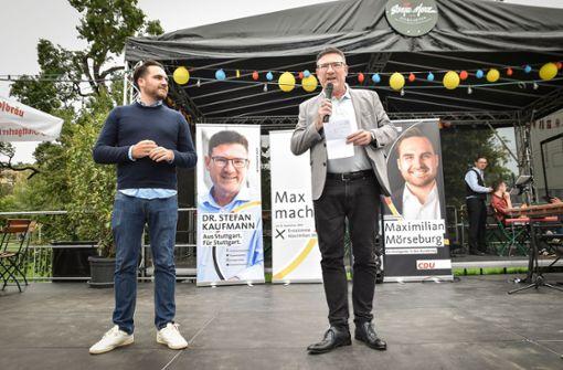 Steht  Stefan Kaufmanns Politikerkarriere vor dem Aus?