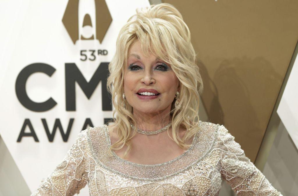 Dolly Parton löste mit ihrem Aufruf einen neuen Trend in den sozialen Netzwerken aus. Foto: imago images/UPI Photo/JOHN ANGELILLO