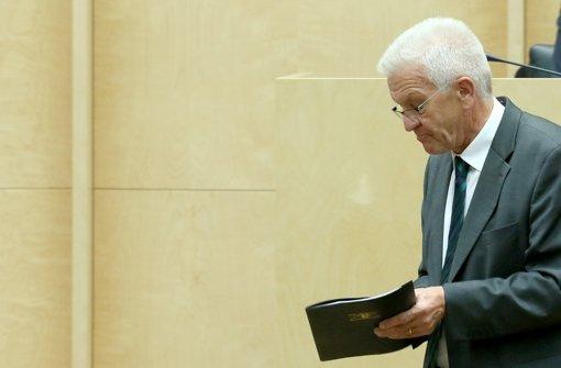 Kretschmann sieht Bund in der Pflicht