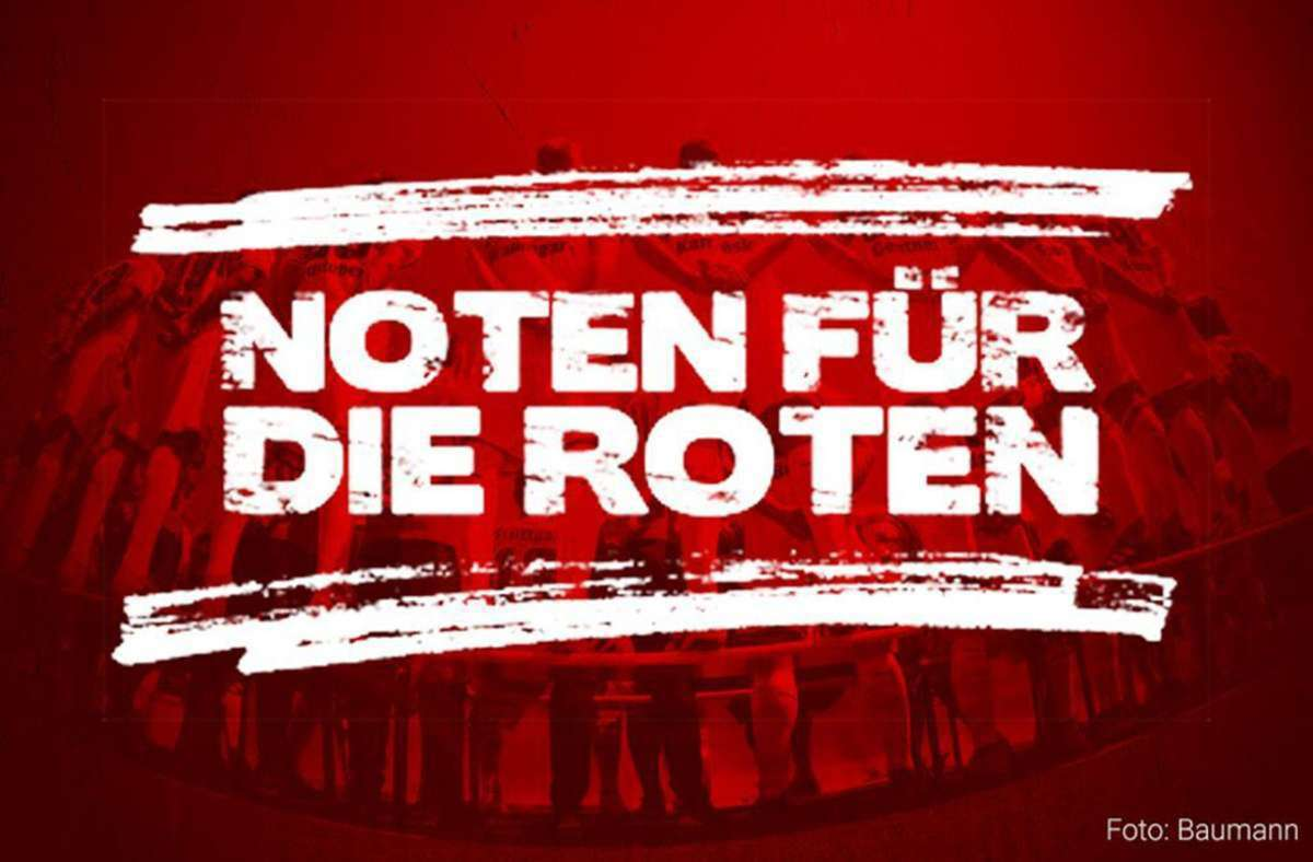 Bewerten Sie die Leistung der VfB-Spieler – vergeben sie die Noten für die Roten. Foto: StZN/Baumann