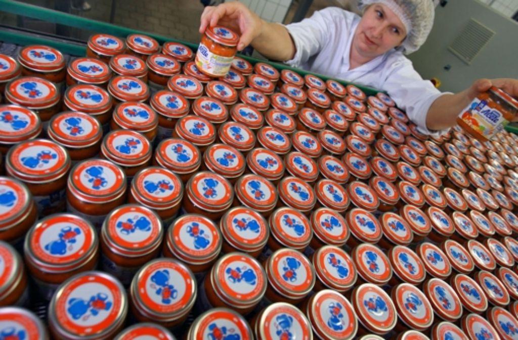 Alete ist ein bekannter Hersteller von Babynahrung. Foto: dpa