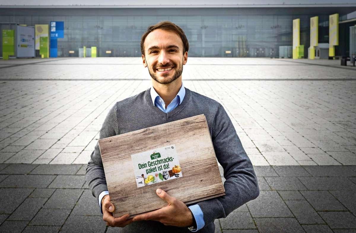 Nikitas Petrakis bringt die Slow Food zu den Leuten nach Hause. Foto: Lg/Zweygarth