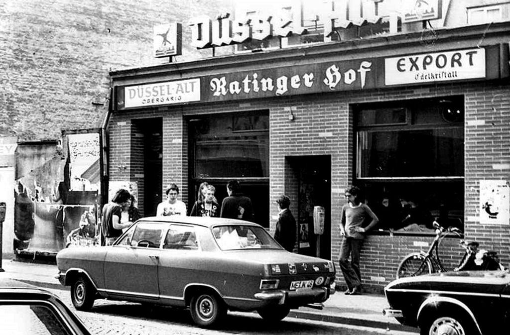 Der Ratinger Hof 1978. Foto: /Ralf Zeigermann CC BY-SA 3.0