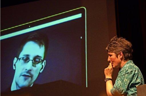 Snowden spricht über den Wert der Freiheit