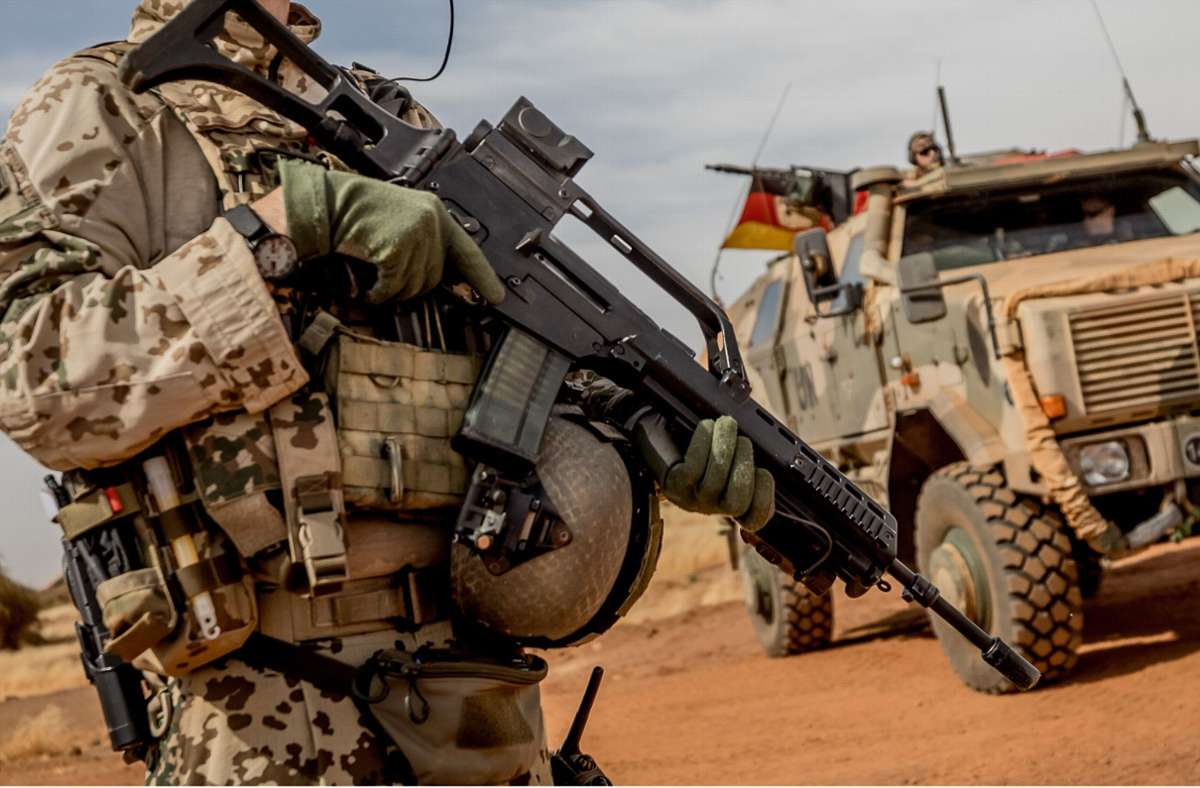 Deutsche Soldaten sind in Mali stationiert. Foto: Michael Kappeler/dpa