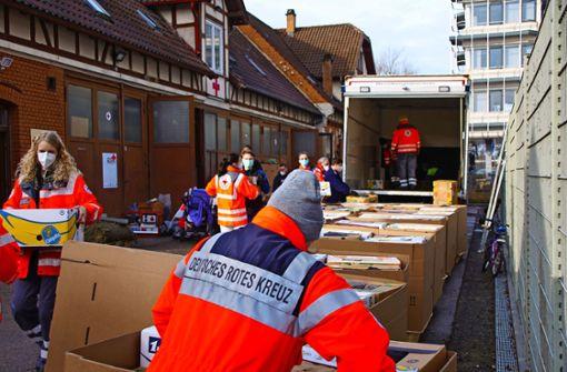 Welle der Solidarität für die Erdbebenopfer in Kroatien