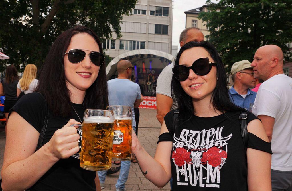 Beliebter Treffpunkt: das Henkersfest in Stuttgart-Mitte. Foto: Andreas Rosa