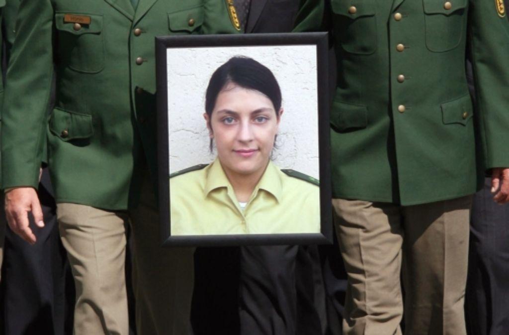 Der  Generalbundesanwalt nimmt an, dass auf Michèle Kiesewetter als Repräsentantin des Staates geschossen wurde. Foto: dpa