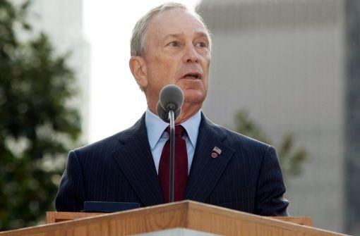 Bloomberg dankt Deutschen für Solidarität nach 11. September 2001