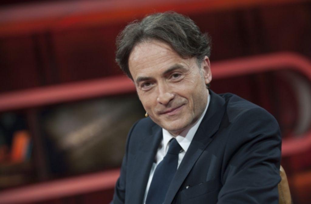Giovanni di Lorenzo, Chefredakteur der Zeit, bei Günther Jauch.  Foto: dpa
