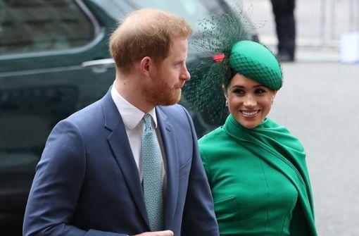 Harry und Meghan müssen für Schutz selbst zahlen