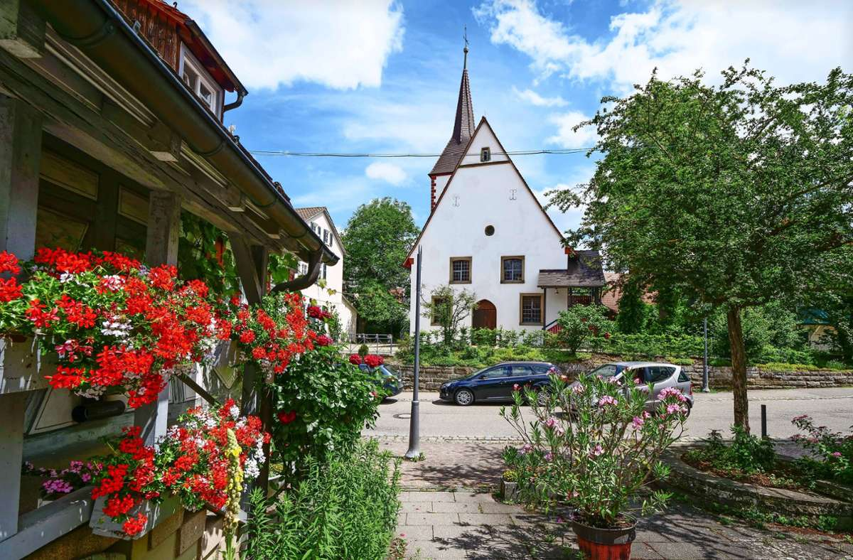 Schöckingen gilt als idyllisch, die Dorfgemeinschaft ist aktiv Foto: