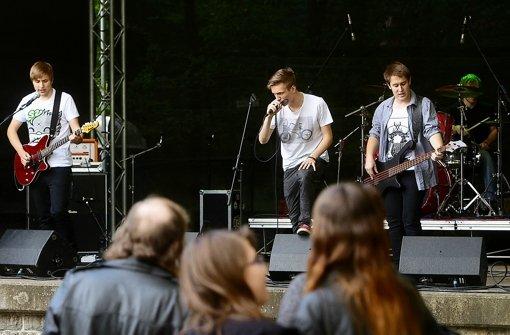 Mit den jungen Helfern steht und fällt das Festival