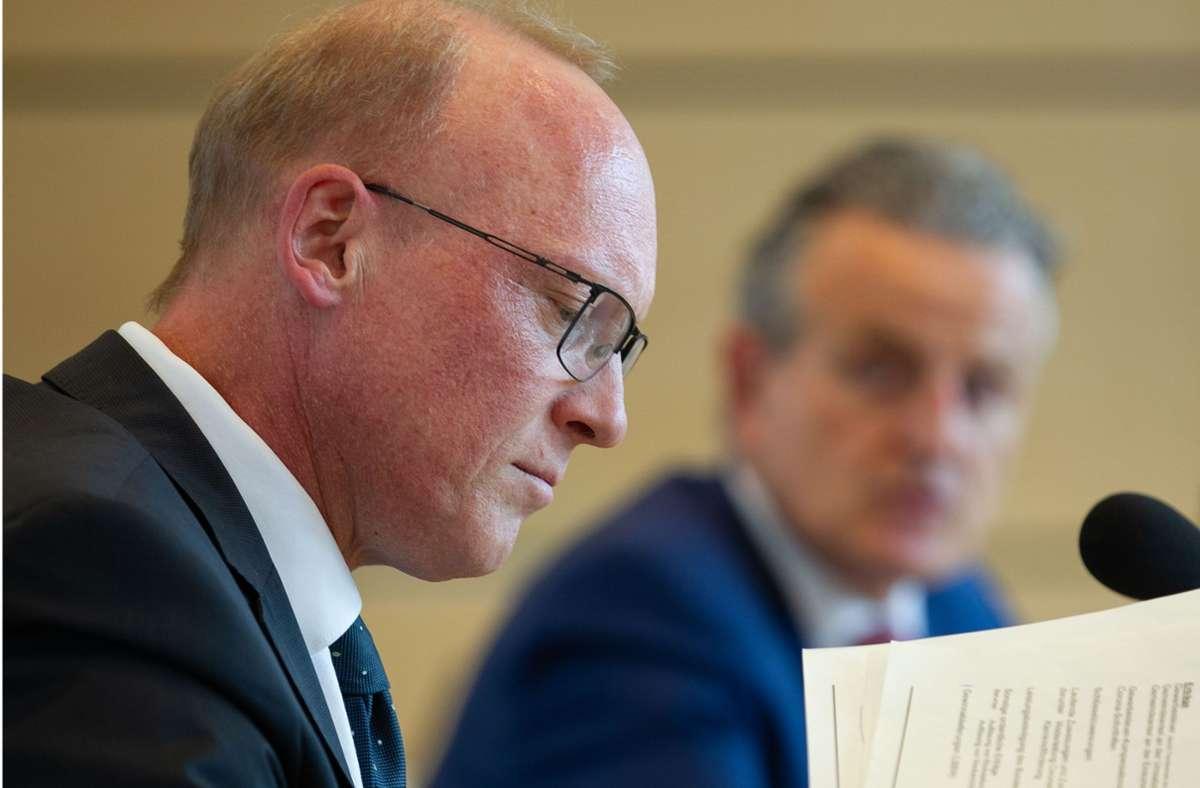 Stuttgarts Finanzbürgermeister Thomas Fuhrmann (CDU) blickt mit Sorgen auf den nächsten Doppelhaushalt. Foto: Lichtgut/Leif Piechowski