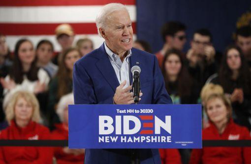 Schafft Joe Biden in New Hampshire  die Wende?