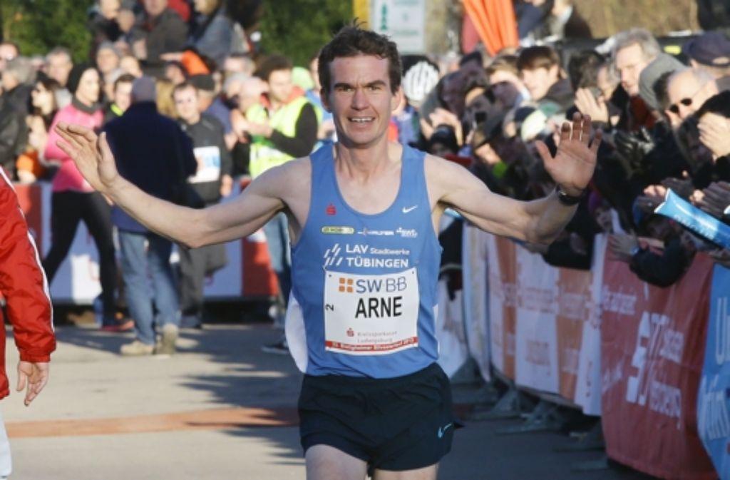 Überlegener Sieger beim Bietigheimer Silvesterlauf: Arne Gabius. Foto: Pressefoto Baumann