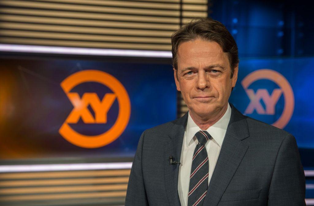 """Rudi Cernes Sendung """"Aktenzeichen XY... ungelöst"""" bleibt eine der beliebtesten im deutschen Fernsehen. Foto: dpa"""