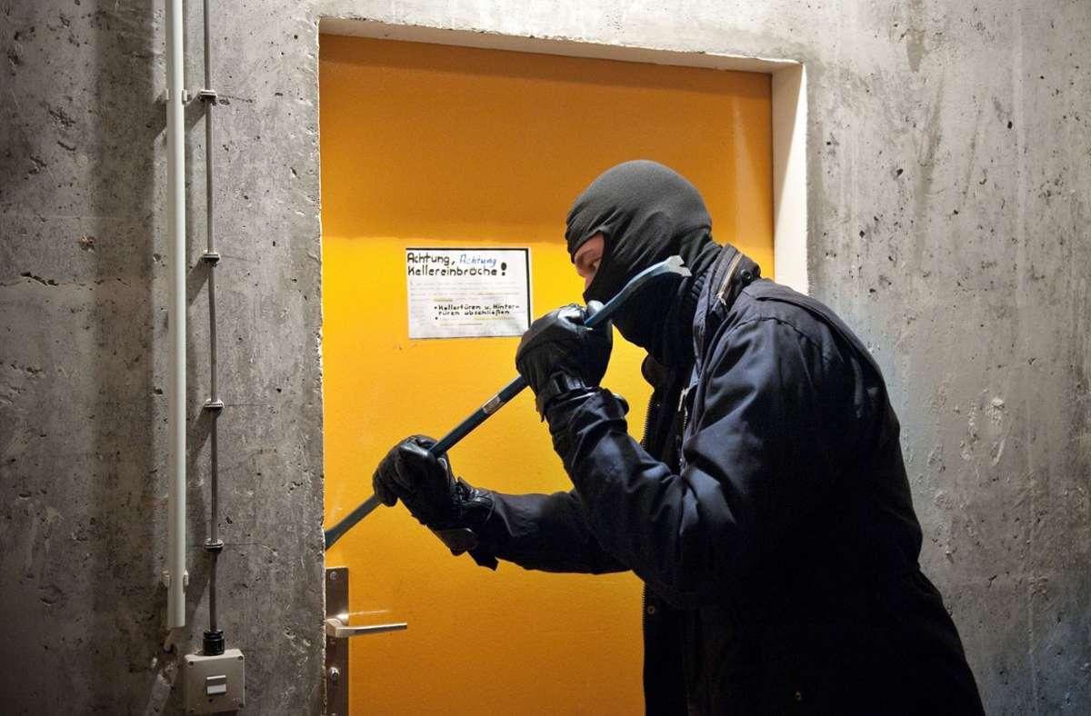 Die Unbekannten suchten einen Keller in Bad Cannstatt heim. (Symbolbild) Foto: picture alliance / dpa/Robert Schlesinger