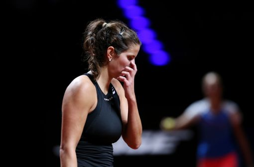Julia Görges gibt bei WTA-Turnier in Stuttgart auf