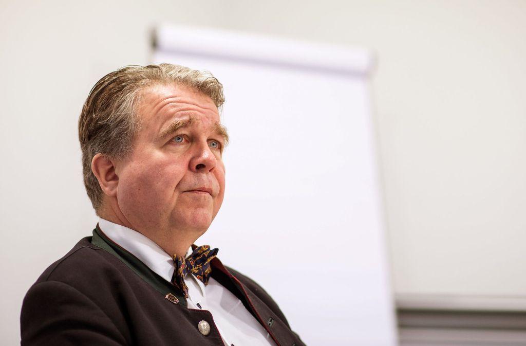 Heinrich Fiechtner erhebt massive Vorwürfe gegen die AfD (Archivbild). Foto: dpa