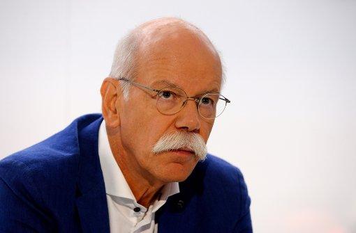 """Daimler-Chef: Verbot ist """"nicht Aufgabe des Gesetzgebers"""""""