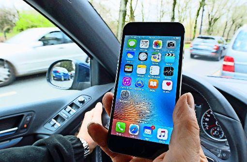 Am Steuer wird das Handy zur tödlichen Gefahr