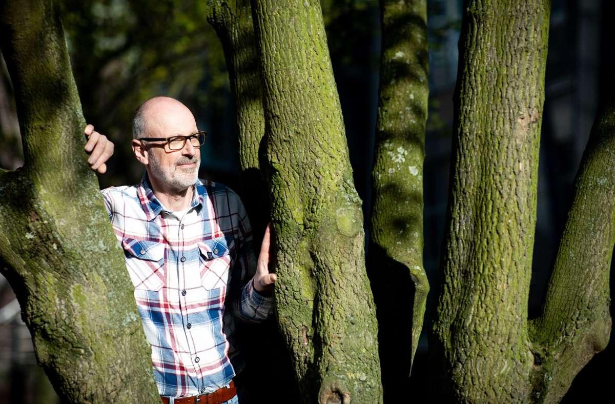 """Mit seinem Buch """"Das geheime Leben der Bäume"""" ist Peter Wohlleben bekannt geworden. Foto: dpa/Christian Charisius"""