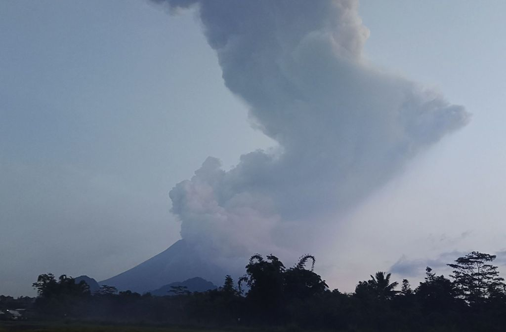 Der Merapi gehört zu den aktivsten Vulkanen der Welt. Foto: dpa/Slamet Riyadi