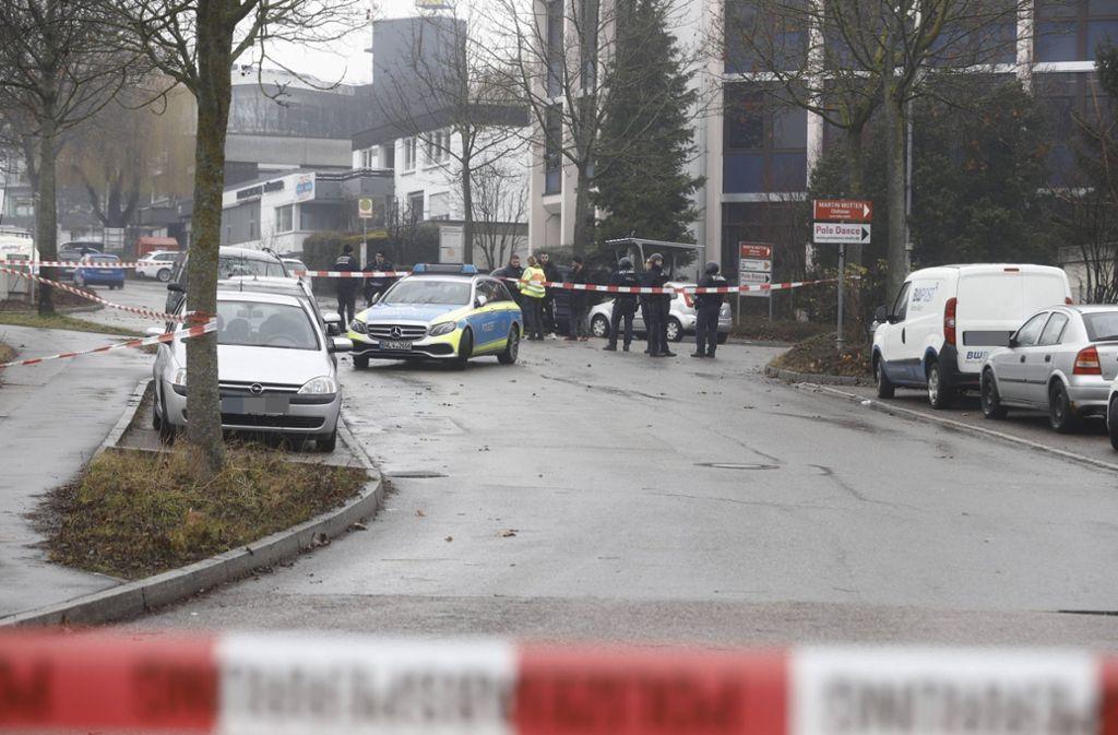 Im Gewerbegebiet in Waiblingen wurde eine schwer verletzte Person gefunden. Foto: 7aktuell.de/Simon Adomat