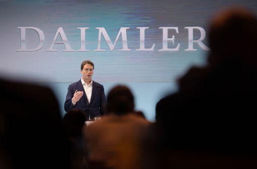 """""""Daimler benötigt derzeit keine Staatshilfe"""""""