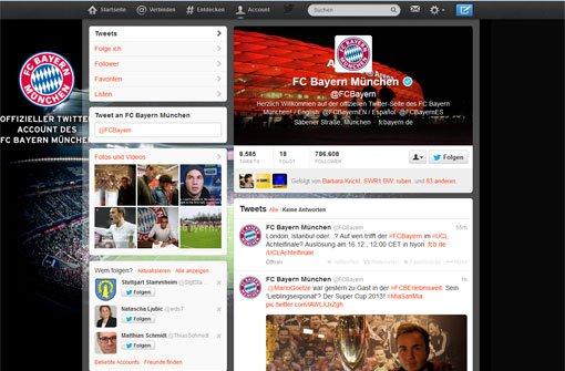 Bayern München hat die meisten Re-Tweets
