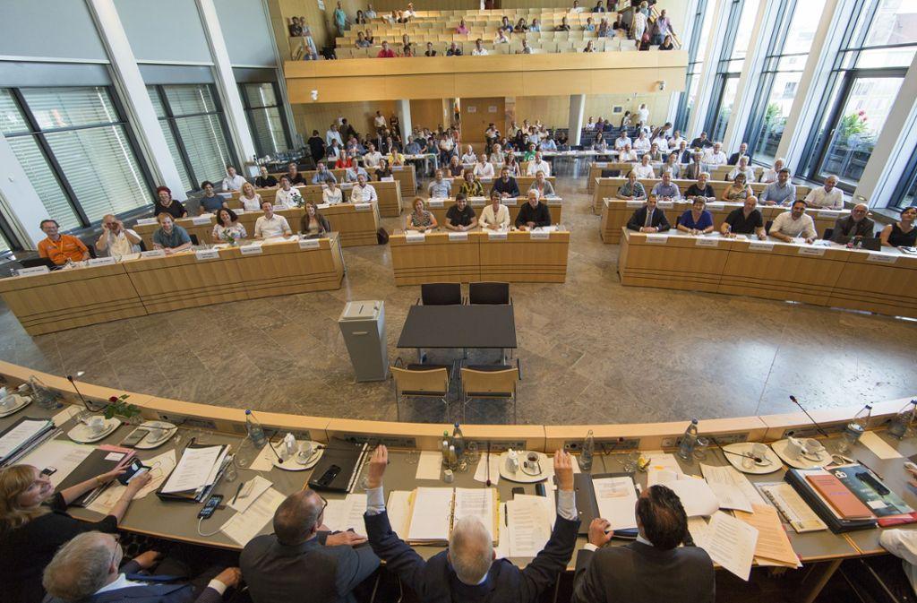 Der alte Gemeinderat musste mit 1500 Euro Aufwandspauschale pro Stadtrat auskommen. Für die neuen Stadträte gibt's 150 Euro mehr. Foto: Lichtgut/Leif / Piechowski