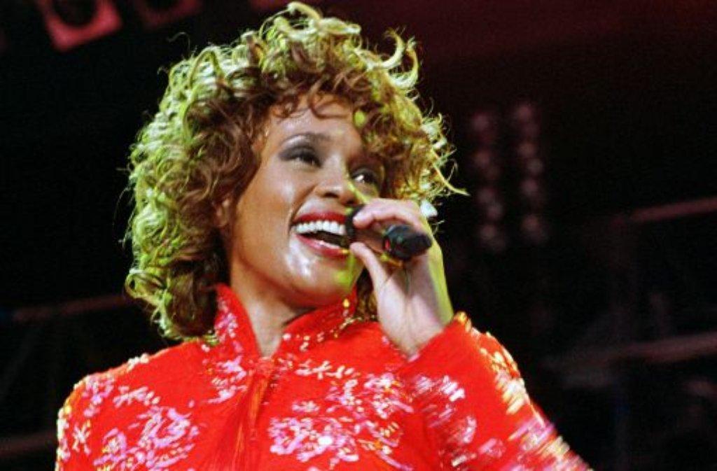 Whitney Houston feiert ihre größten Erfolge in den 1980er Jahren. Spätestens ... Foto: dpa