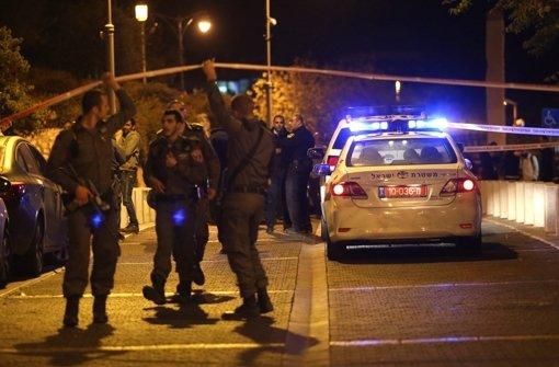 Verdächtiger Palästinenser erschossen