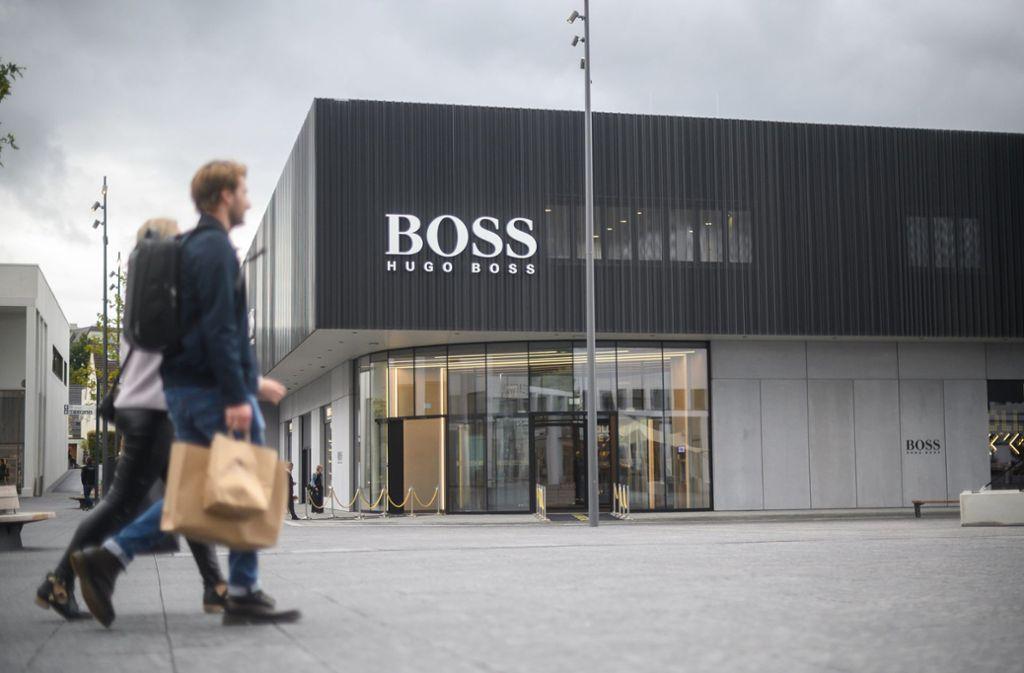 Hugo Boss konnte seinen Umsatz im vergangenen Jahr steigern. Foto: dpa/Sebastian Gollnow