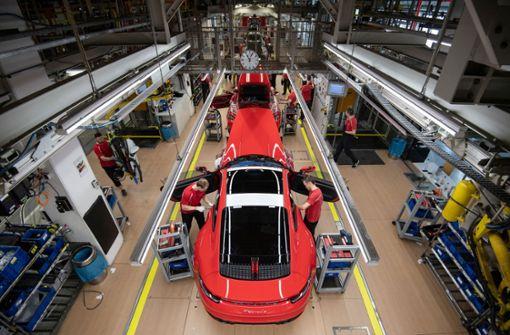 Produktion bei Porsche ruht auch in der Woche nach Ostern