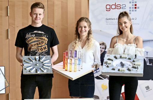 Sindelfinger Schüler entwerfen ungewöhnliche Uhren