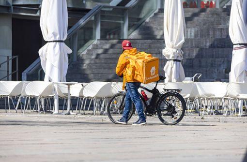 Wie Fahrradkuriere die Coronapandemie erleben