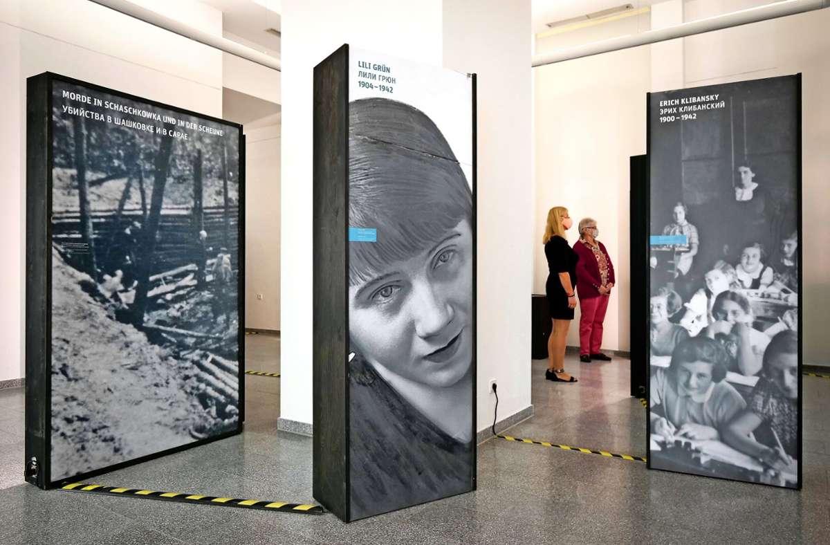 Deportation und Mord: Eine neue Ausstellung im Staatsarchiv dokumentiert deutsche Kriegsverbrechen im heutigen  Belarus. Foto: factum/Simon Granville