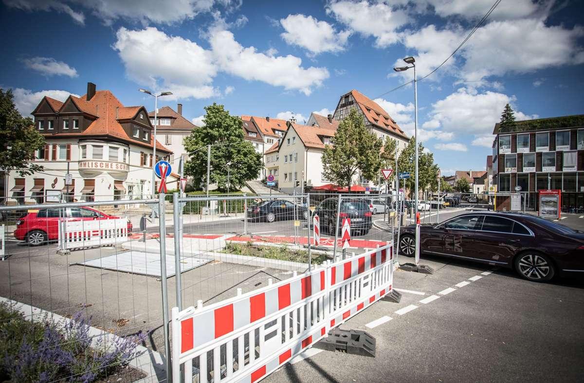 Die Behinderungen am Elbenplatz haben ein Ende. Foto: Eibner-Pressefoto/Jürgen Biniasch