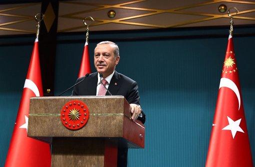 Erdogan setzt Konvention teilweise aus