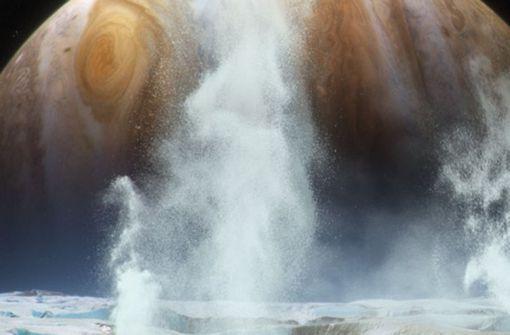 Nasa bestätigt: Es gibt Wasser auf Jupitermond Europa